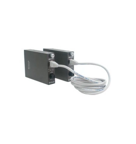 D-Link DMC-920T Media 100BASE-TX to twisted pair for 100BASE-FX (connector SC) on single cable, up to 20 km