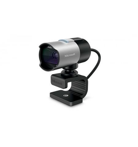 Microsoft Q2F-00018 LifeCam Studio 1280 x 720 pixels, Black, Silver, Clip, 30 fps, 720p, USB 2.0, Yes