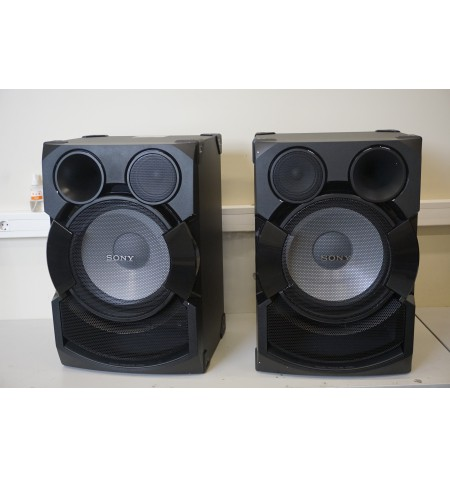 SALE OUT. Sony SSSHAKEX70P Speakers for Shake X70 system / DEMO, SMALL SCRATCHES Sony Speakers for Shake X70 system SSSHAKEX70P