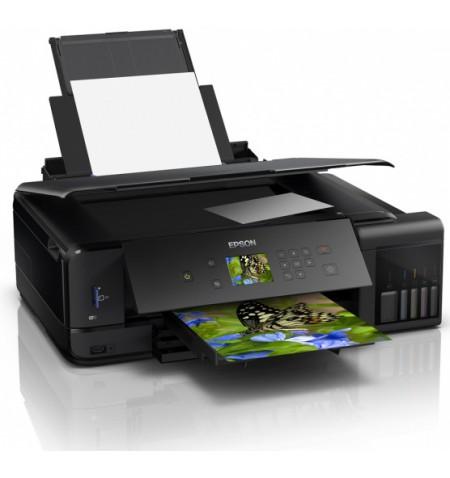 Epson A3 photos and documents printer L7180 Colour, Epson Micro Piezo print head, A3, Wi-Fi, Black