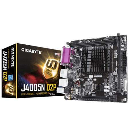 Gigabyte J4005N D2P Processor family Intel, DDR4 DIMM, Memory slots 2, Mini ITX