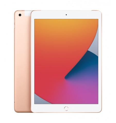 "Apple 8th Gen (2020) iPad Wi-Fi + Cellular 10.2 "", Gold, Retina touch screen with IPS, Apple A12 Bionic, 3 GB, 32 GB, 4G, Wi-Fi,"