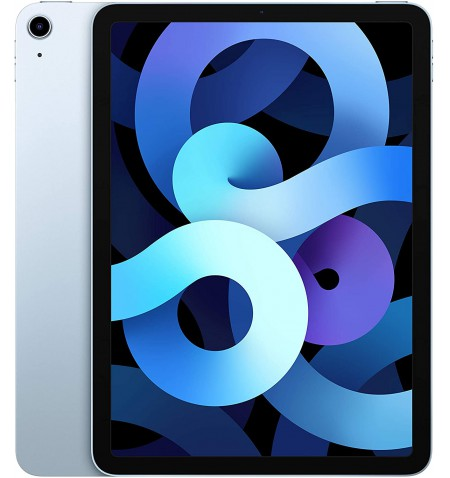 """Apple 4th Gen (2020) iPad Air 10.9 """", Sky Blue, Retina touch screen with IPS, Apple A14 Bionic, 4 GB, 64 GB, Wi-Fi, Front camera"""