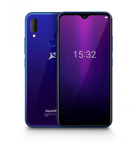 "Allview Soul X6 Mini Blue, 6.2 "", IPS LCD, 720 x 1520, Cortex-A53 quad-core, Internal RAM 2 GB, 16 GB, Micro SD, Dual SIM, Nano"