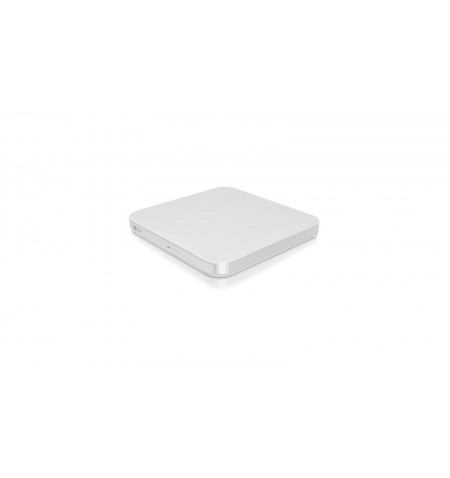 H.L Data Storage Ultra Slim Portable DVD-Writer GP95NW70 Interface USB 2.0, DVD RW, CD read speed 24 x, CD write speed 24 x, Whi