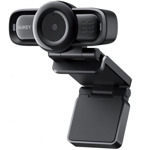 Aukey USB Intergration Camera PC-LM3 Black, 1080p, USB 2.0
