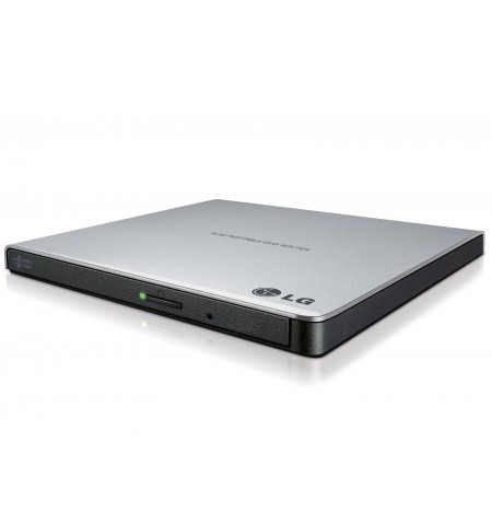H.L Data Storage Ultra Slim Portable DVD-Writer GP57ES40 Interface USB 2.0, DVD R/RW, CD read speed 24 x, CD write speed 24 x, S