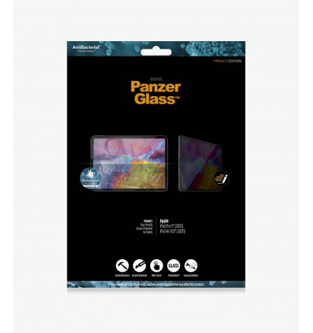 "PanzerGlass iPad Pro 11"" (2020)/ iPad 10.8 , Clear Screen Protector, Privacy"