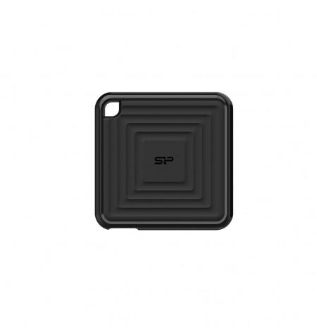 Silicon Power Portable SSD PC60 240 GB, USB 3.2, Black