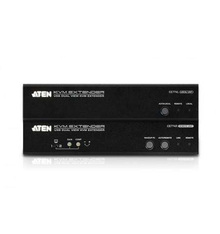 Aten USB VGA Dual View Cat 5 KVM Extender (1600 x 1200@150m)