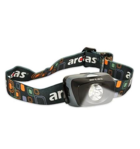 Arcas Headlight ARC1 LED, 1 W, 30-70 lm, 3 light functions