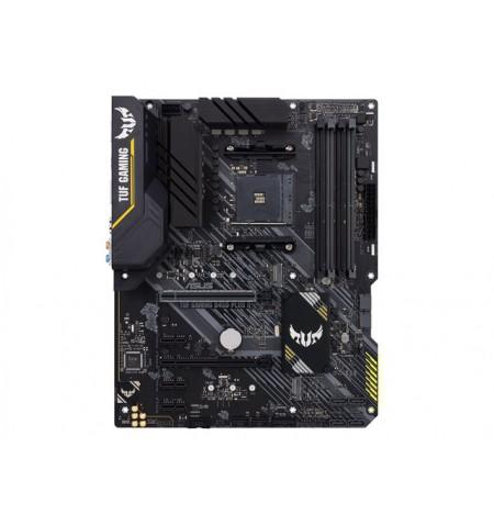 ASUS TUF GAMING B450-PLUS II Asus TUF GAMING B450-PLUS II Memory slots 4, Number of SATA connectors 6 x SATA-600 (RAID), max 128