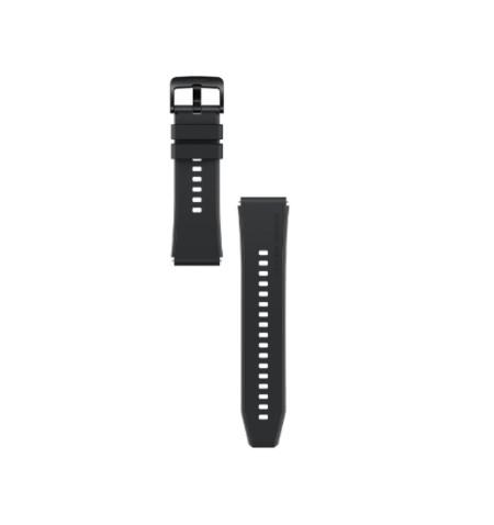Huawei Watch GT 2 Pro Strap, Fluoroelastomer, Black