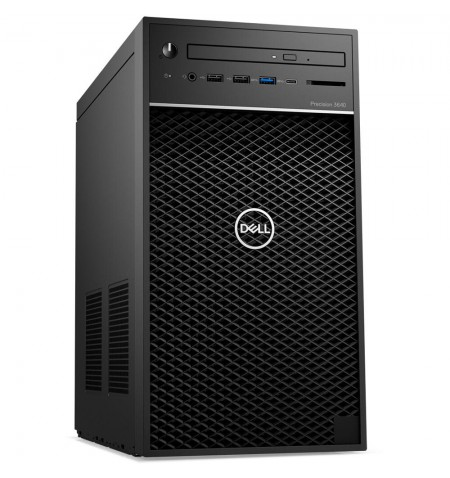 Dell Precision 3640 Desktop, Tower, Intel Core i7, i7-10700, Internal memory 8 GB, DDR4, SSD 256 GB, NVIDIA Quadro P1000, No Opt