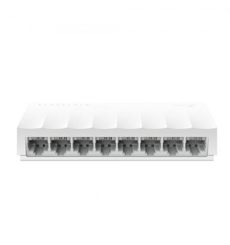 TP-LINK 8-Port 10/100Mbps Desktop Network Switch LS1008 Unmanaged, Desktop