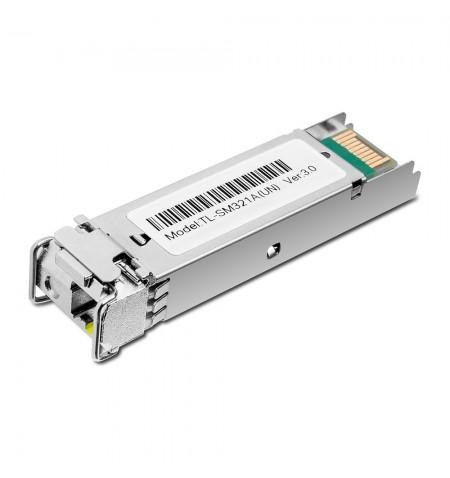 TP-LINK 1000 Base-BX WDM Bi-Directional SFP Module TL-SM321A-2 9/125 m SMF (Single-Mode Fiber)