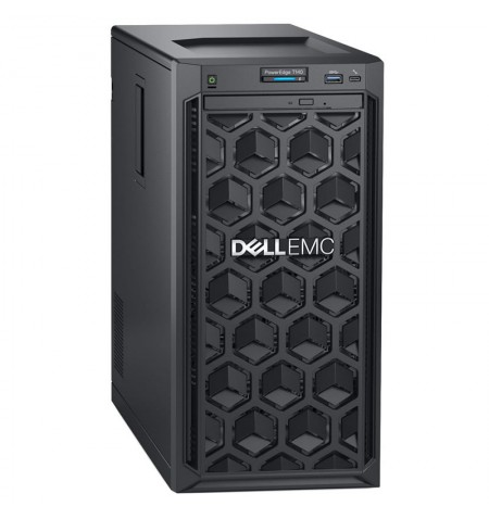 """Dell PowerEdge T140 Tower, Intel Xeon, E-2224, 3.4 GHz, 8 MB, 4T, 4C, UDIMM DDR4, 2666 MHz, No RAM, No HDD, Up to 4 x 3.5"""", PERC"""