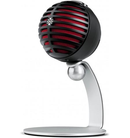 Shure MV5 Digital Condenser Microphone, Black