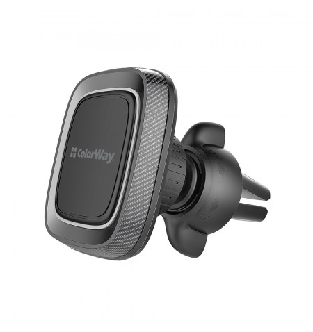 ColorWay Magnetic Car Holder For Smartphone Air Vent-2 Gray, Adjustable, 360