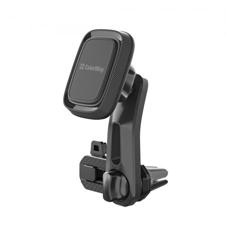 ColorWay Magnetic Car Holder For Smartphone Air Vent-3 Gray, Adjustable, 360