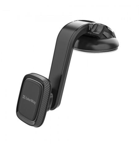 ColorWay Magnetic Car Holder For Smartphone Dashboard-2 Gray, Adjustable, 360