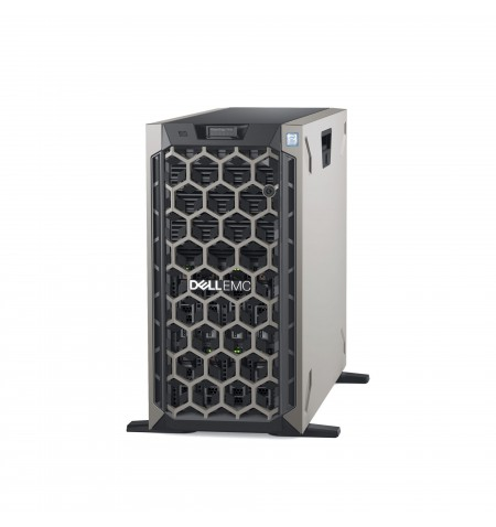 Dell PowerEdge T440 Tower, Intel Xeon, Silver 1x4210R, 2.4 GHz, 13.75 MB, 20T, 10C, RDIMM DDR4, 2666 MHz, No RAM, No HDD, Up to