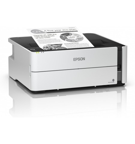 Epson Printer EcoTank M1180 Mono, PrecisionCore TFP print head, A4, Wi-Fi, Grey