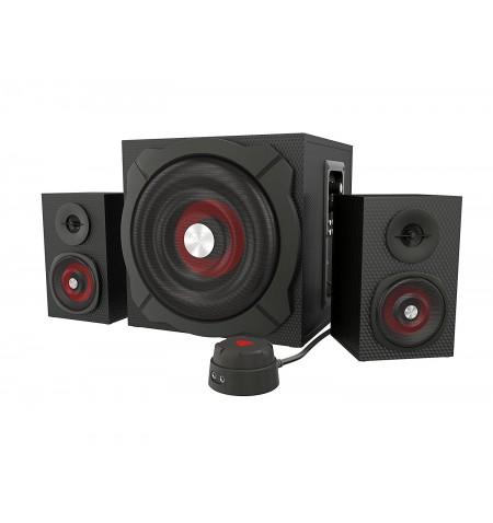 GENESIS Helium 610BT Computer Speakers, Wired, Bluetooth, Black