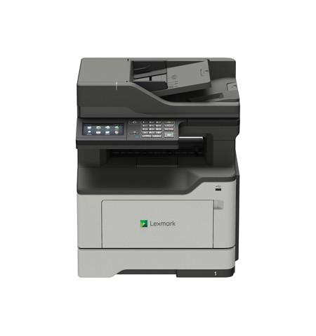 Lexmark MX421ade Mono, Laser, Multifunction Mono Laser Printer, A4, Wi-Fi, Grey/Black