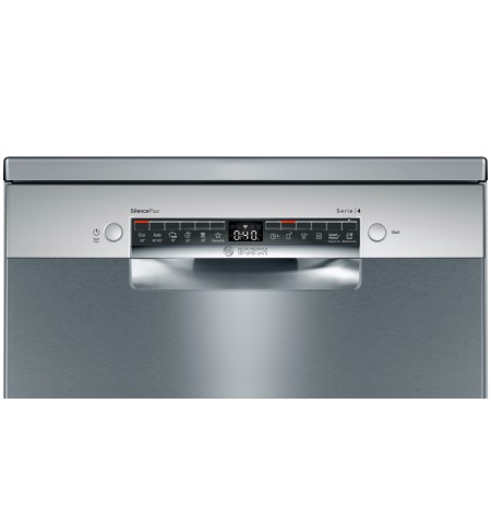 Bosch Dishwasher SMS4HVI33E Free standing, Width 60 cm, Number of place settings 13, Number of programs 6, Energy efficiency cla