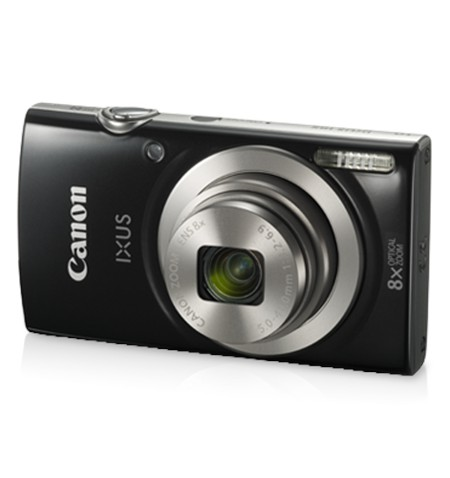 "Canon IXUS 185 Compact camera, 20 MP, Optical zoom 8 x, Digital zoom 4 x, Image stabilizer, ISO 800, Display diagonal 2.7 "", Foc"