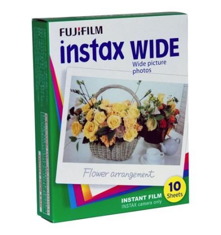 Fujifilm Instax Wide Glossy (10pl) Film Quantity 10, 108 x 86 mm