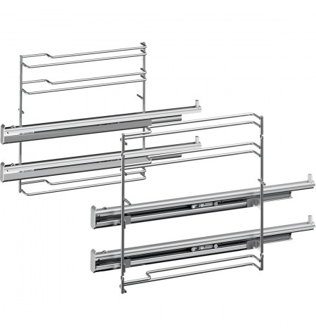 Bosch HEZ638200 2 level telescopic rails